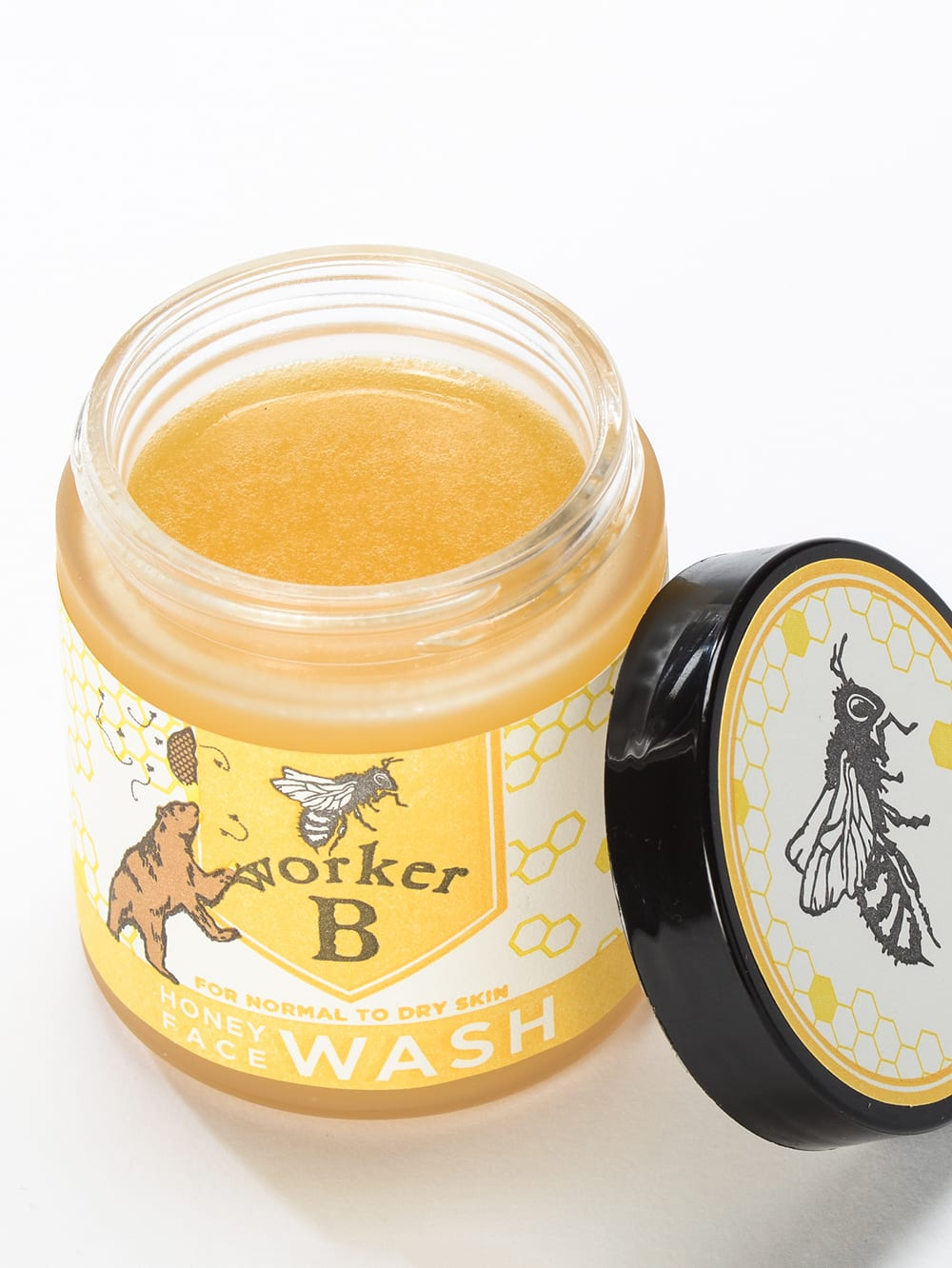 Raw Honey Face Wash for Normal to Dry Skin