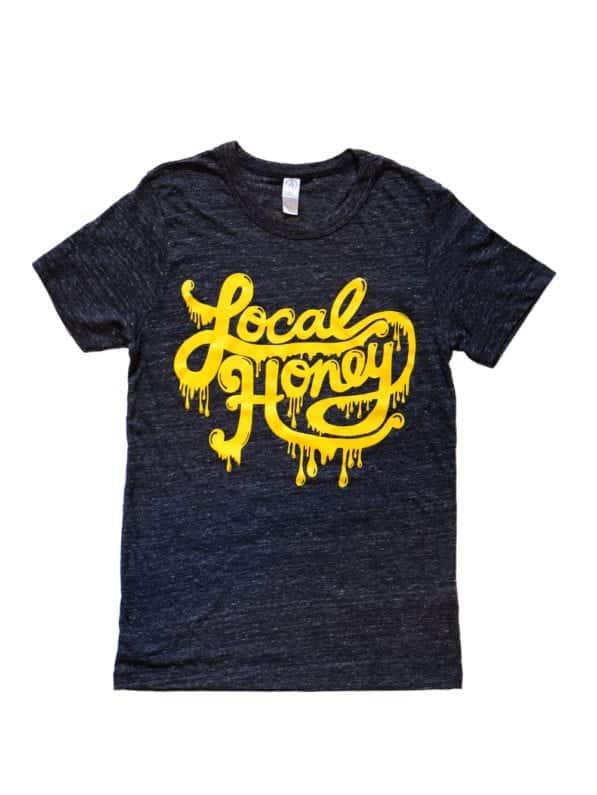 Local Honey Shirt Black Front