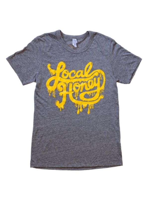 Local Honey Shirt Grey Front