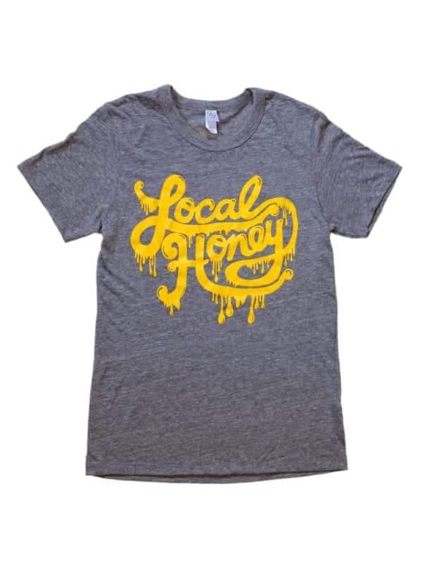 Local Honey Shirt Grey Front