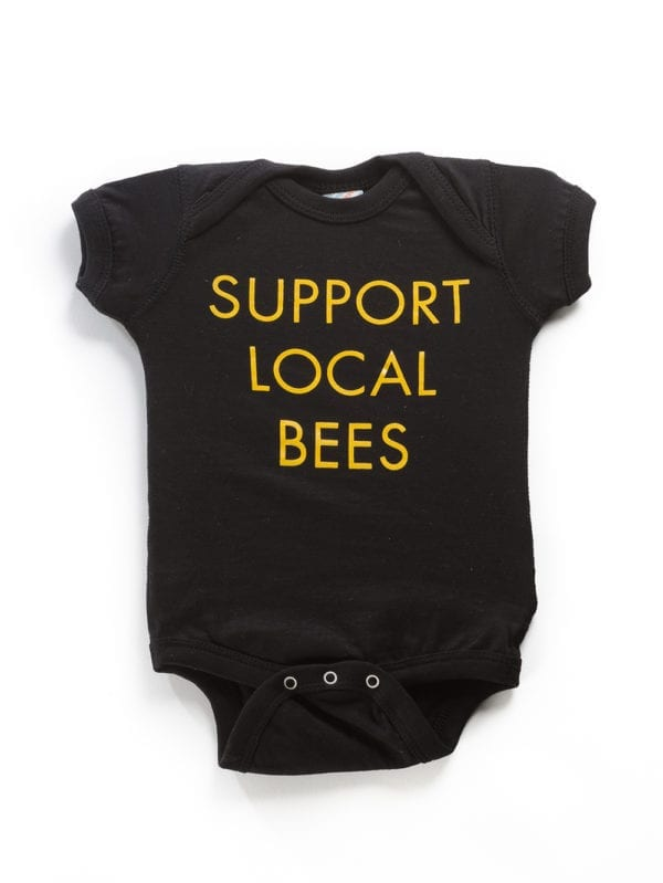 SLB Baby Suit Black Front
