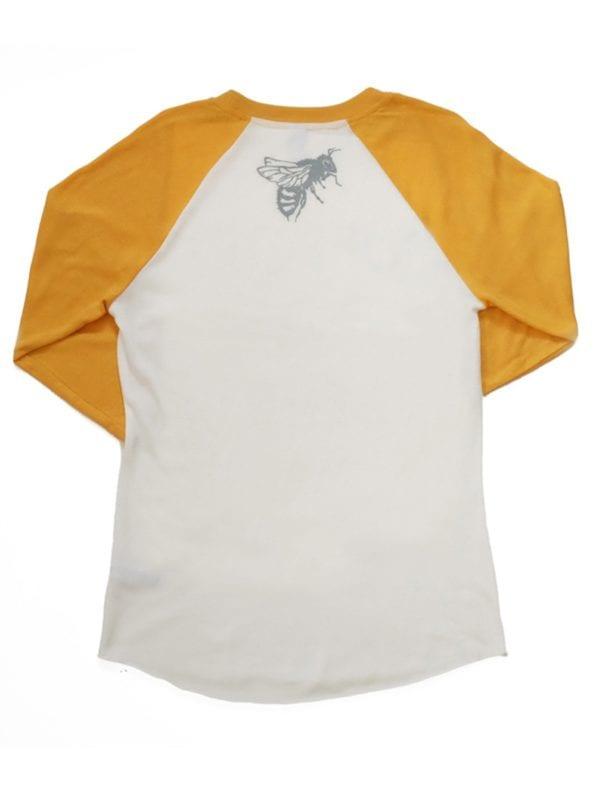 SLB-Baseball-Shirt-Gold-Back