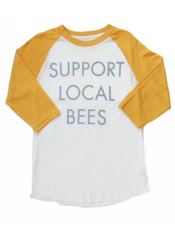 SLB-Baseball-Shirt-Gold-Front