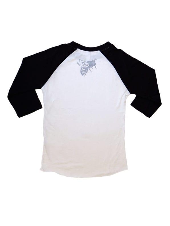 SLB Shirt Baseball Black Back