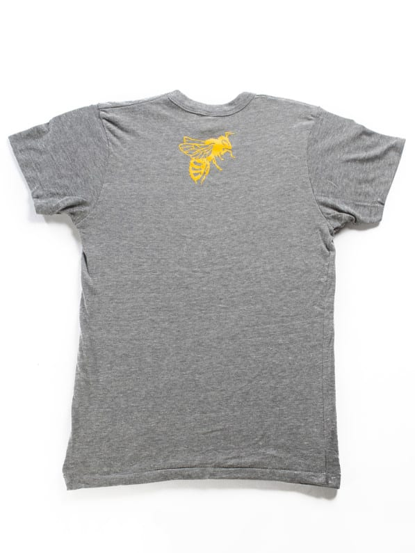 SLB Shirt Grey Back