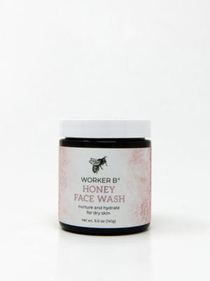 Raw Honey Face Wash for Dry Skin by Worker B