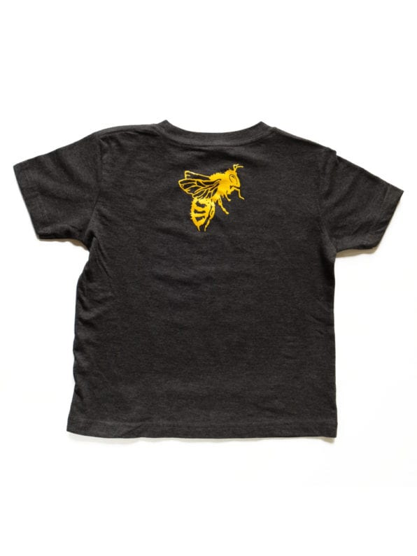 support-local-bees-toddler-shirt-back