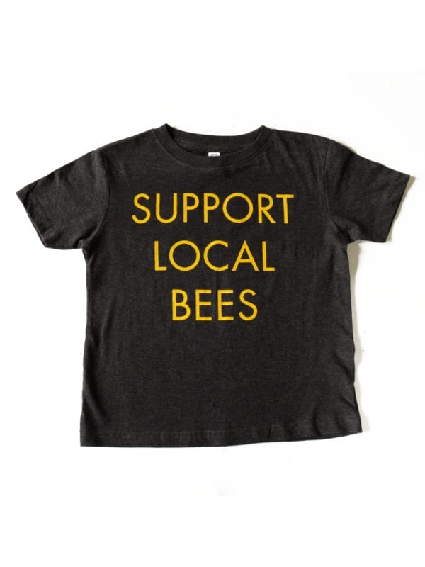 support-local-bees-toddler-shirt-front