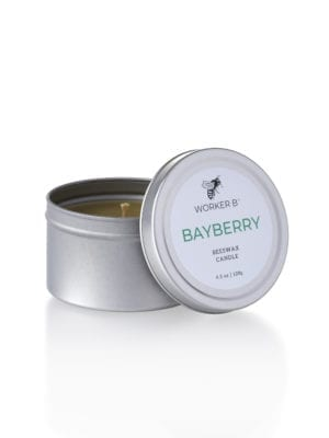 Bayberry Candle Tin by Worker B