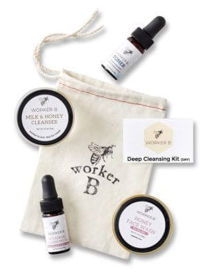 Deep Cleansing Kit presented by Worker B