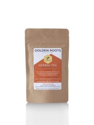 Golden Roots Herbal Tea Sample by Worker B