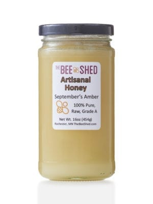 Bee Shed Raw Honey presented by Worker B