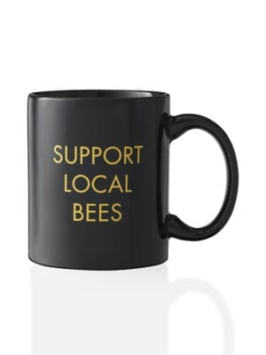 Support Local Bees Mug by Worker B