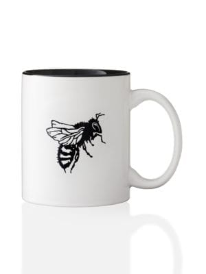 Logo Bee Mug by Worker B