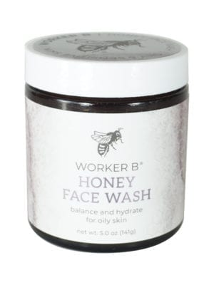 Raw Honey Face Wash for Oily Skin by Worker B