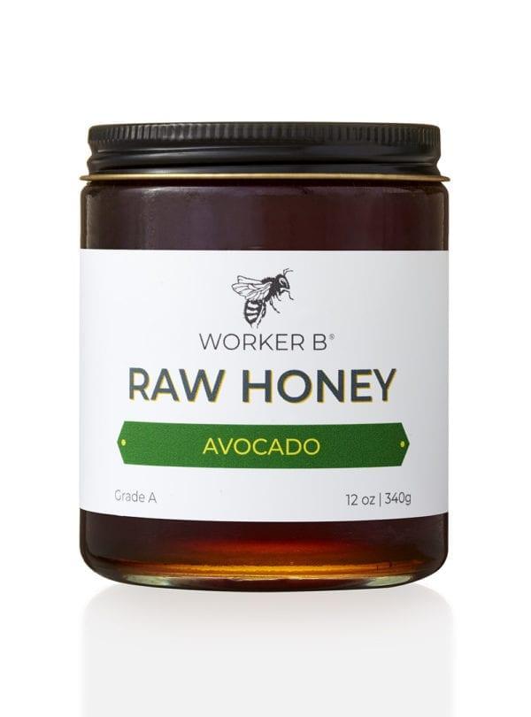 worker-b-raw-honey-12oz-avocado-california