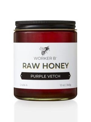 Purple Vetch Honey by Worker B