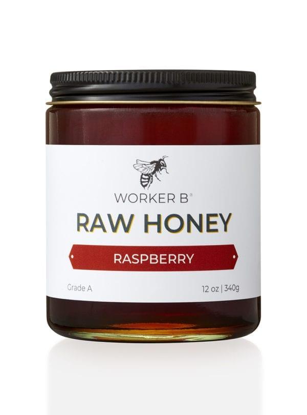 worker-b-raw-honey-12oz-raspberry-washington