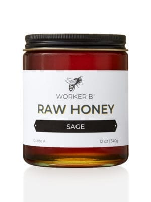 Sage Raw Honey by Worker B