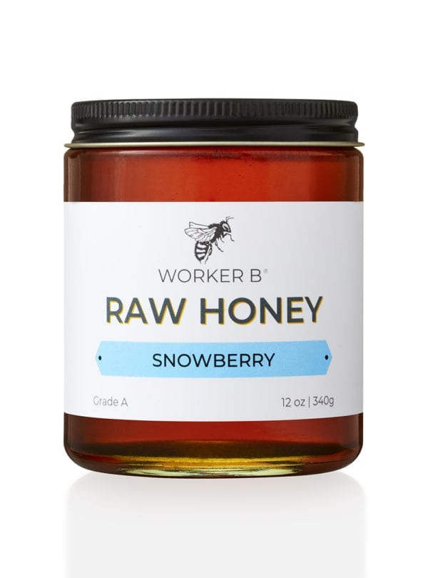 worker-b-raw-honey-12oz-snowberry-idaho