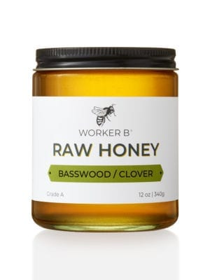 Basswood Clover Honey by Worker B