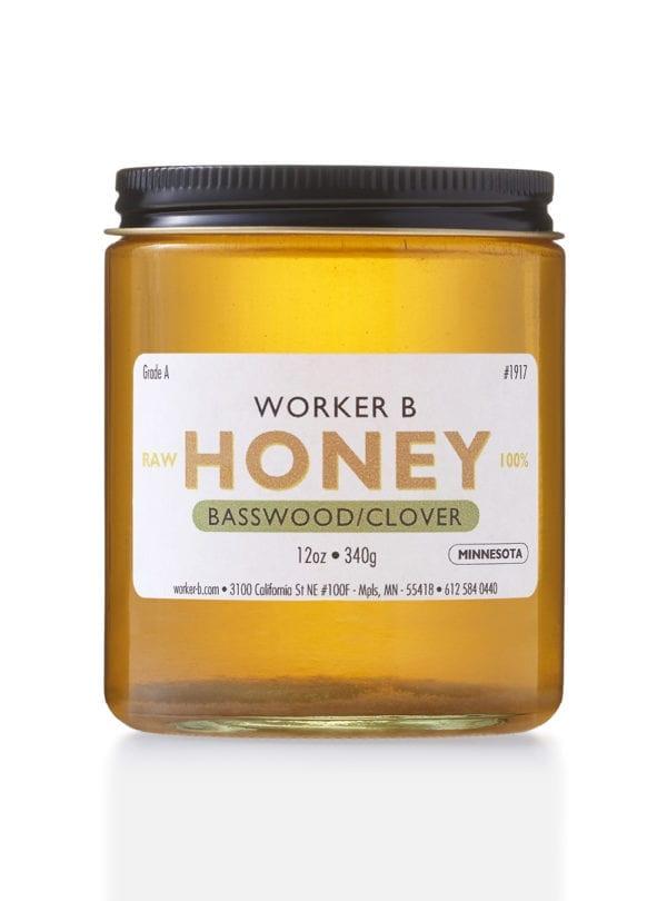 worker-b-raw-honey-basswood-clover-minnesota