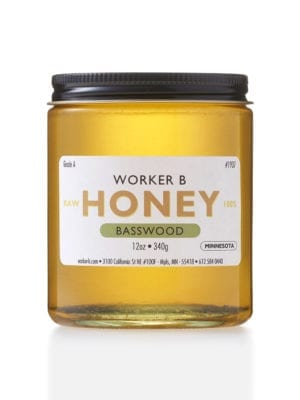 Basswood Honey by Worker B