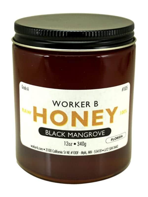 Worker B Raw Honey Black Mangrove
