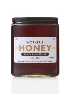 Black Mangrove Honey by Worker B