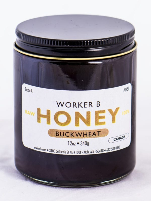 Worker B Raw Honey Buckwheat