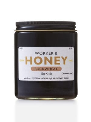 Buckwheat (Minnesota) Honey by Worker B