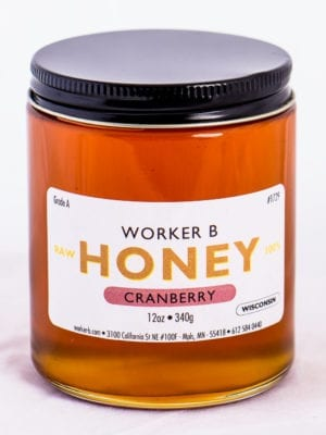Cranberry Honey by Worker B