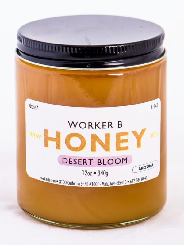Worker B Raw Honey Desert Bloom