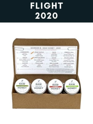 2020 Raw Honey Flight Box by Worker B
