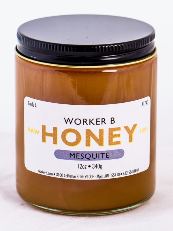 Worker B Raw Honey Mesquite