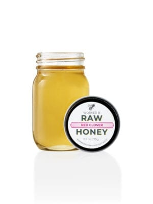 Red Clover Raw Honey (Mini) presented by Worker B