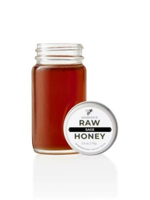Sage Raw Honey (Mini) by Worker B
