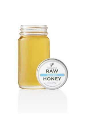 Slum Gum Wildflower Honey (Mini) presented by Worker B