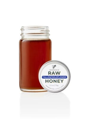 Tallow Wildflower Honey (Mini) by Worker B