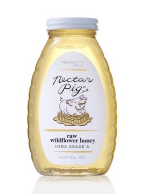 Nectar Pig Raw Honey presented by Worker B