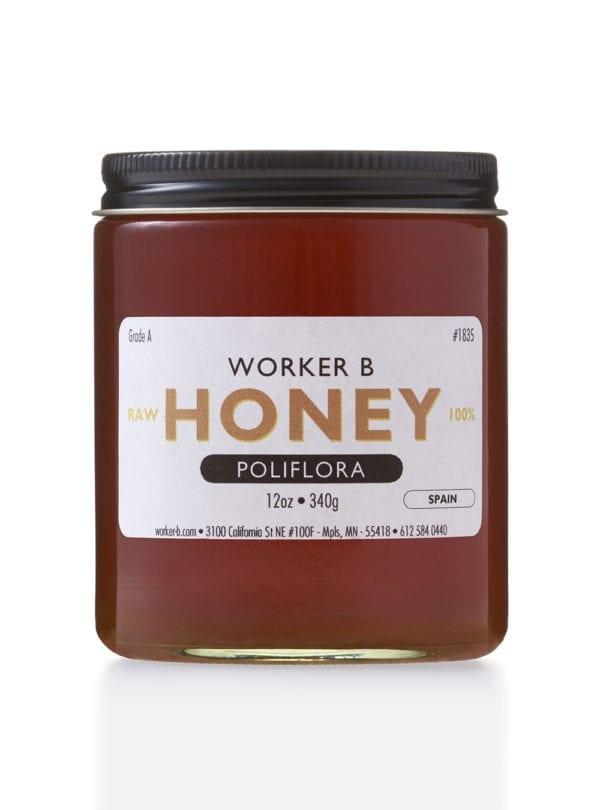 worker-b-raw-honey-poliflora-spain