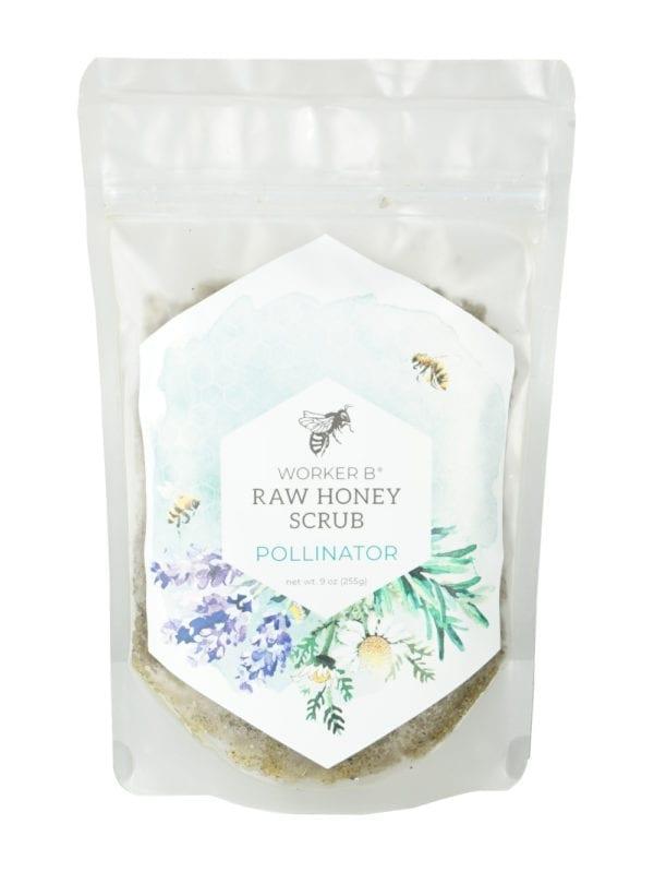 worker-b-raw-honey-pollinator-scrub
