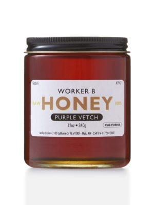 Purple Vetch Honey by Worker B