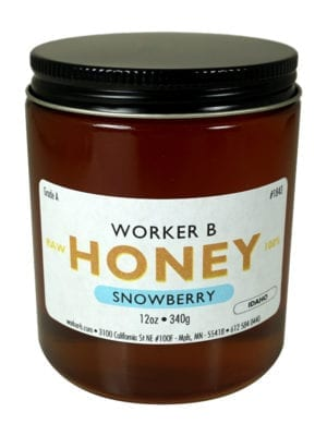 Snowberry Honey by Worker B
