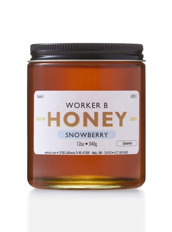 worker-b-raw-honey-snowberry-idaho