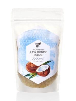 Coconut Raw Honey Sugar Scrub by Worker B