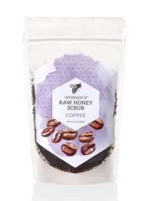 Coffee Raw Honey Sugar Scrub by Worker B