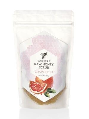 Grapefruit Raw Honey Sugar Scrub by Worker B