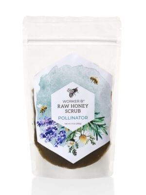 Pollinator Raw Honey Sugar Scrub by Worker B