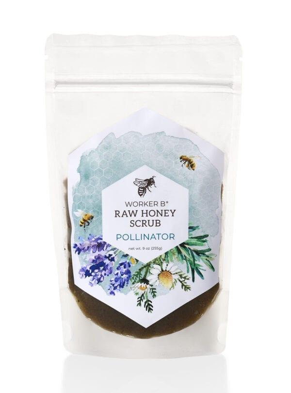 worker-b-raw-honey-sugar-scrub-pollinator